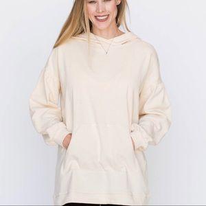 AGNES & DORA Cream Puff Sleeve Pullover-XXS*F507*